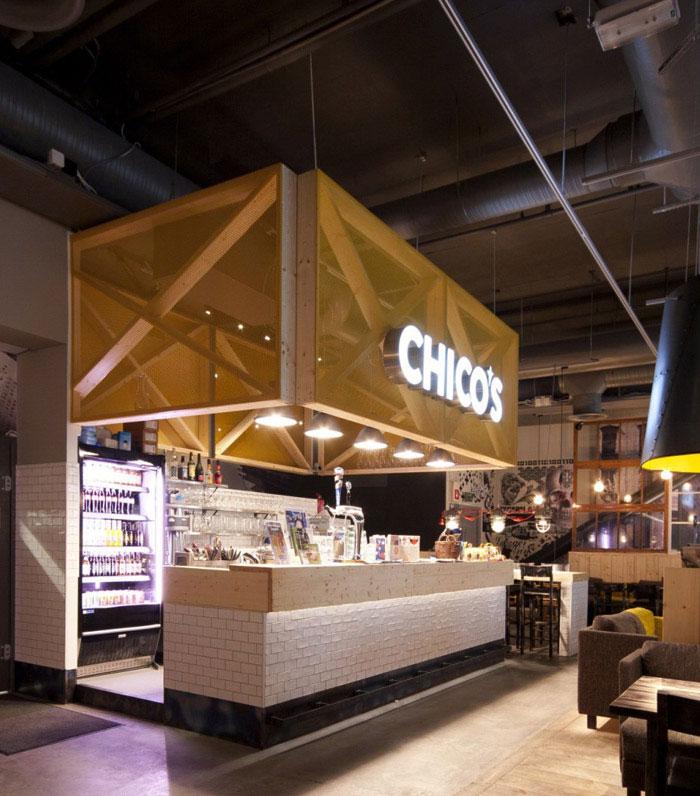 Re designed Restaurant Interior re designed restaurant interior
