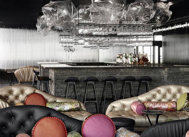 Sustainable Interior Design restaurant interior decor colour sofa