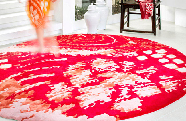 Beautifully Colourful Creations of Rug Design unique medium rug design