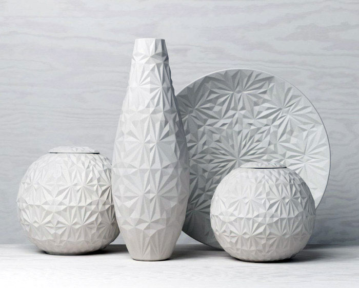 Dusty Diamonds craft ceramic objects