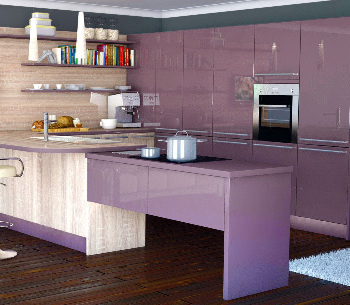 Top 5 Kitchen Design Trends for 2013 kitchen design trends italian aubergine