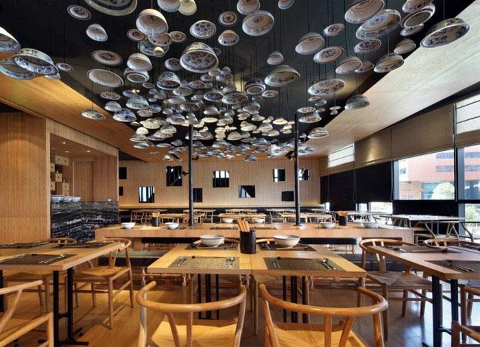 Taiwan Noodle House noodle house plates decor