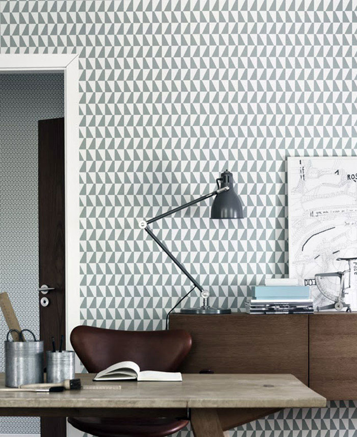 Wallpapers by Scandinavian Designers - InteriorZine