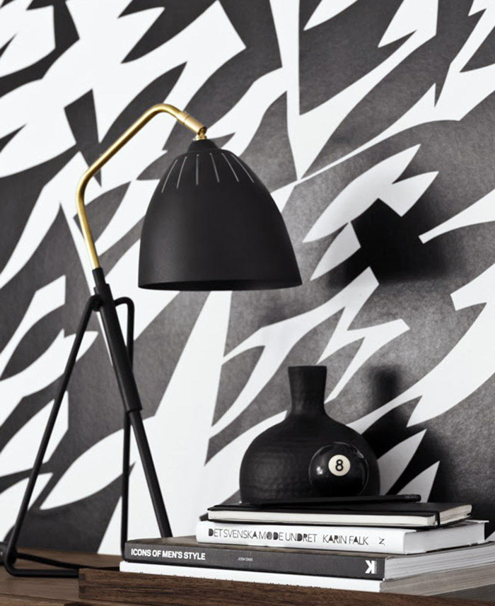 Danish Design Wallpaper : Wallpapers by scandinavian designers interiorzine