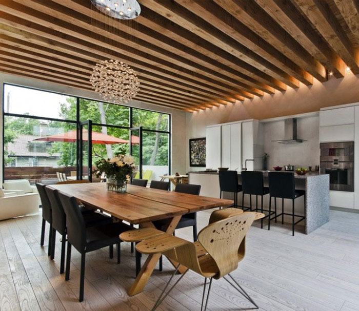 Ecologia Montréal by Gervais Fortin cozy modern living space