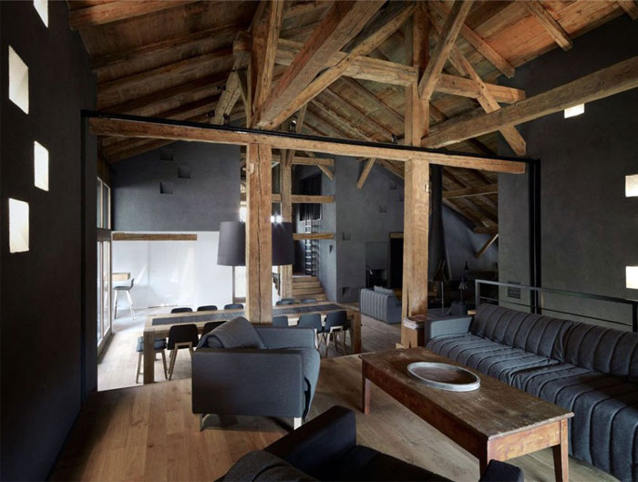 Redesigned Historical Farmhouse in France elegant rental villa
