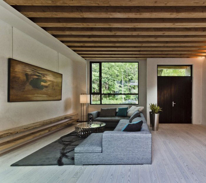 Ecologia Montréal by Gervais Fortin living room interior local little pollutin