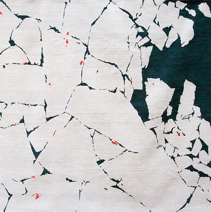 Albedo Carpets polar ice pack carpet