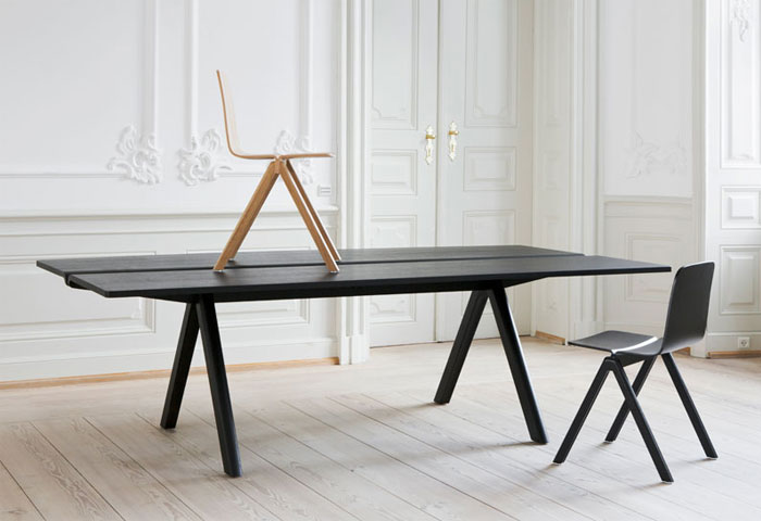 Table and Chair by Ronan and Erwan Bouroullec for HAY bouroullec design