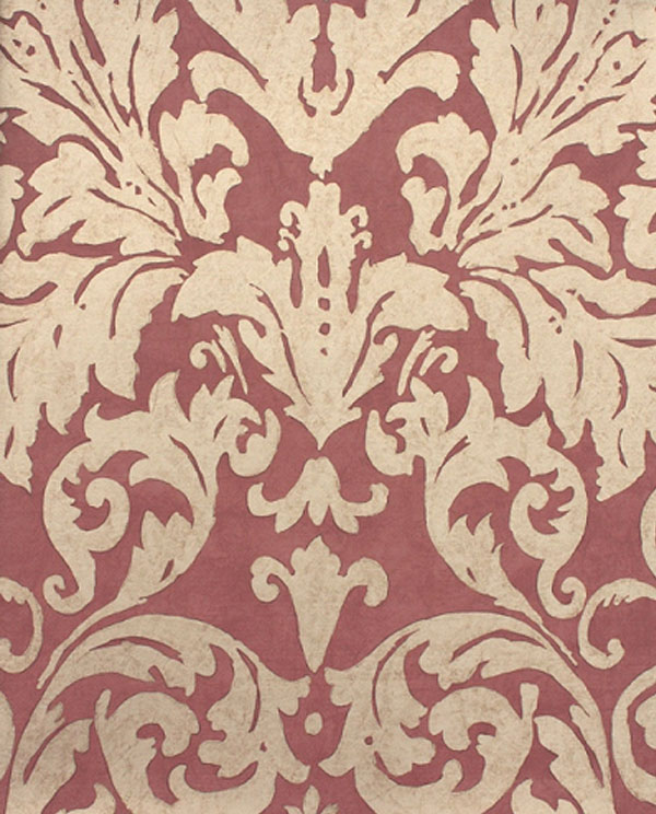 Period Drama's Opulent Influence on Fabrics and Wallpapers damask wallpaper