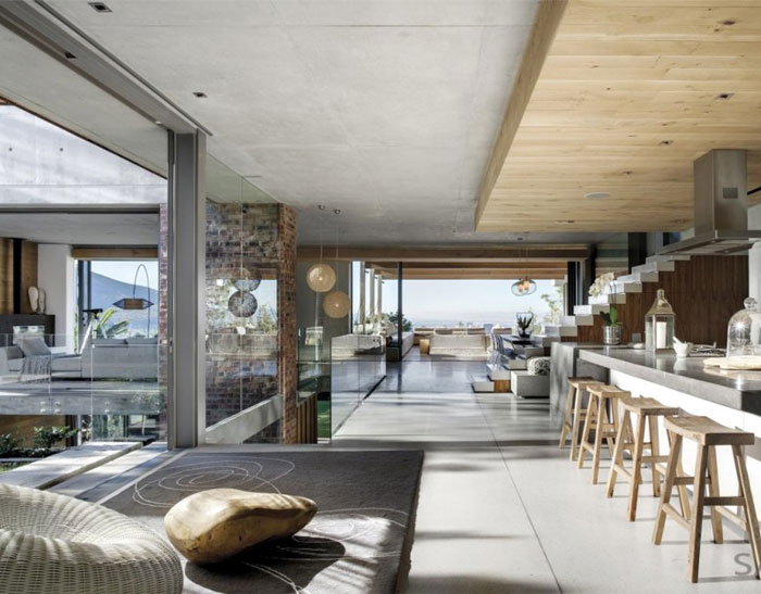 Glen House by SAOTA  glen house saota kitchen interior