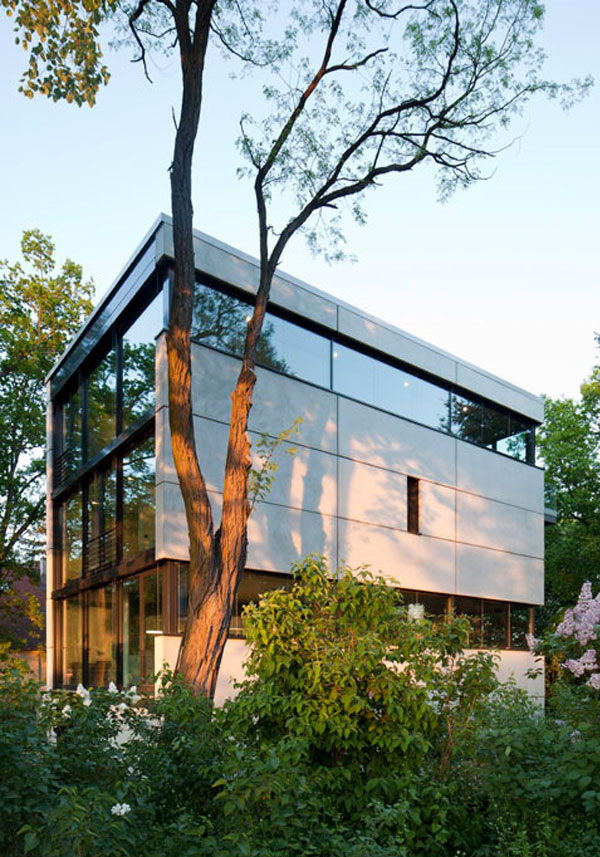 Modern Residential Building modern residential building
