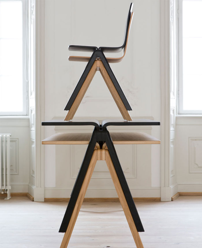 Table and Chair by Ronan and Erwan Bouroullec for HAY table chair hay