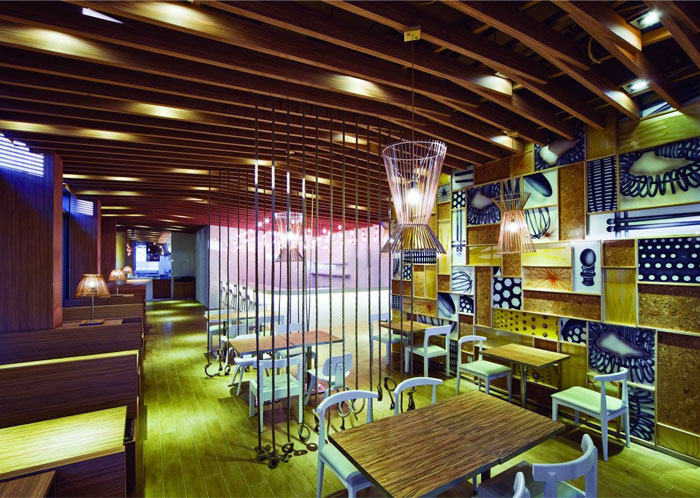 Japanese restaurant interior decor interiorzine
