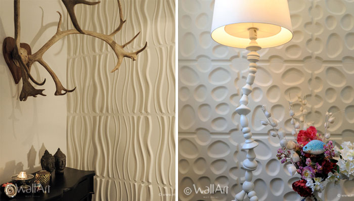 Green and Eco friendly Wall Panels 3d wall decoration