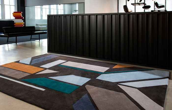 Designer Rugs 2012 Collection of Rugs dynamic rug geometry jade nottage