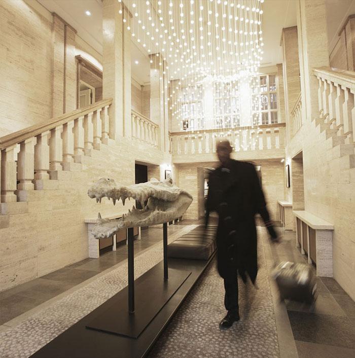 Contemporary Hotel Whit Minimalist Design - InteriorZine