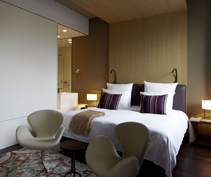 Contemporary Hotel Whit Minimalist Design InteriorZine