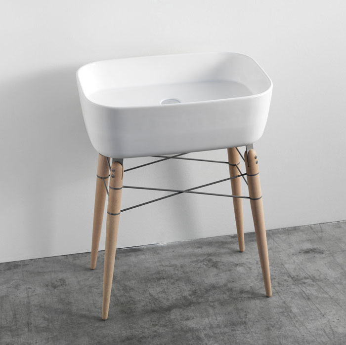 Ray Bathroom Ceramic Washbasin ex t com