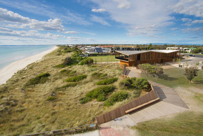 Keast Park by Site Office coastal dune