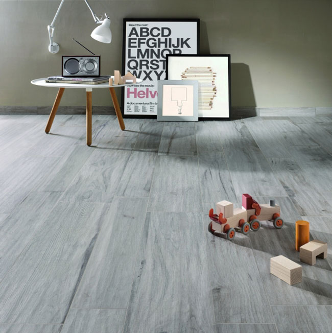 Ceramic Tile That Looks Like Weathered Wood InteriorZine