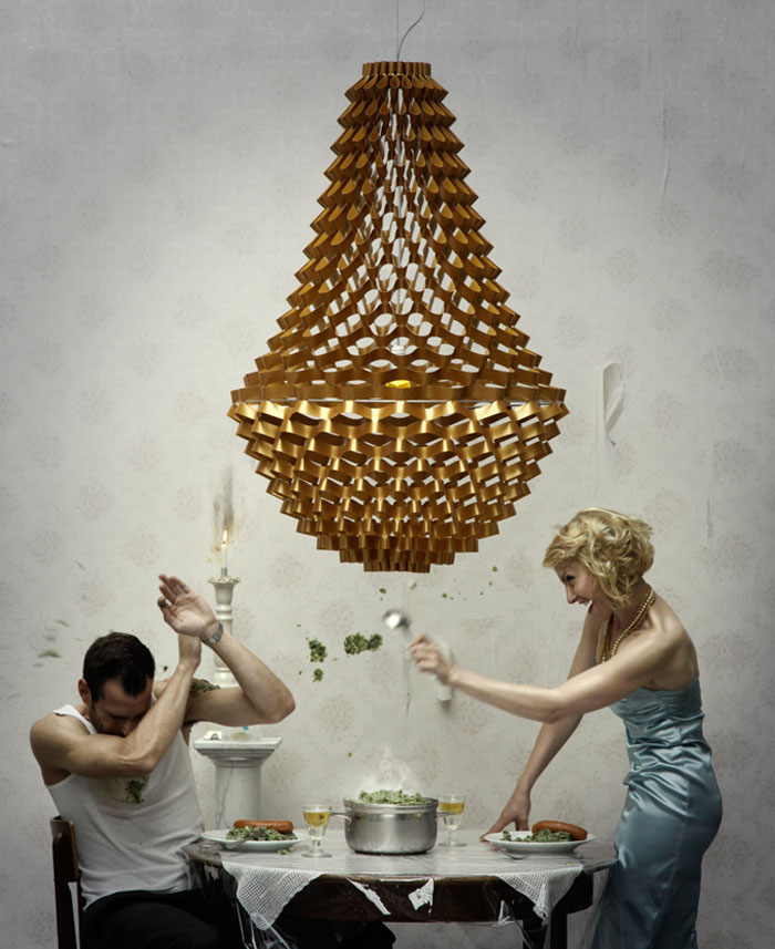 Crown crown pendant light4