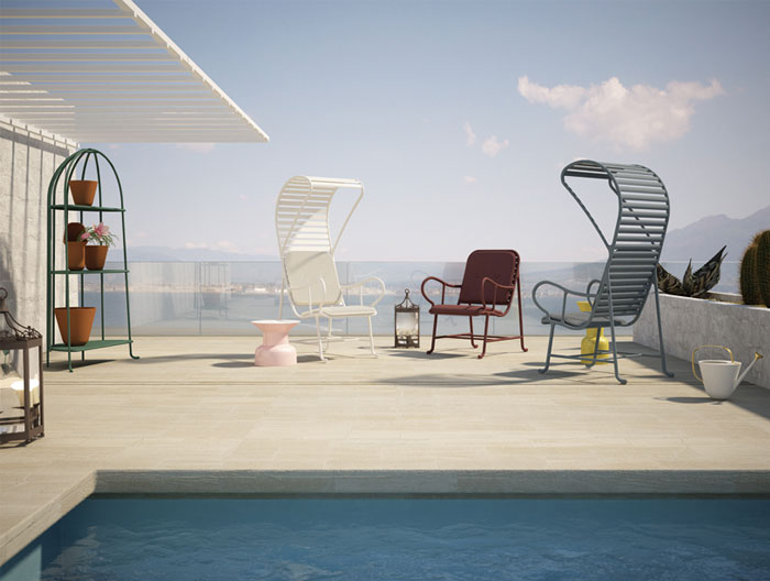 Gardenias Outdoor Furniture Collection by Jaime Hayon gardenias collection jaime hayon5