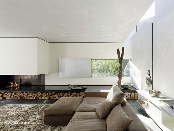 SU House by Alexander Brenner Architekten modern villa1