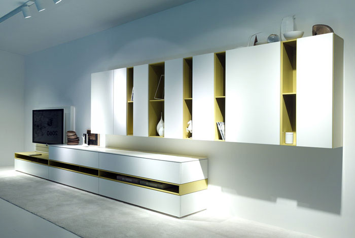 COR and Interlübke in Milan The New 2013 Collections wardrobes panel