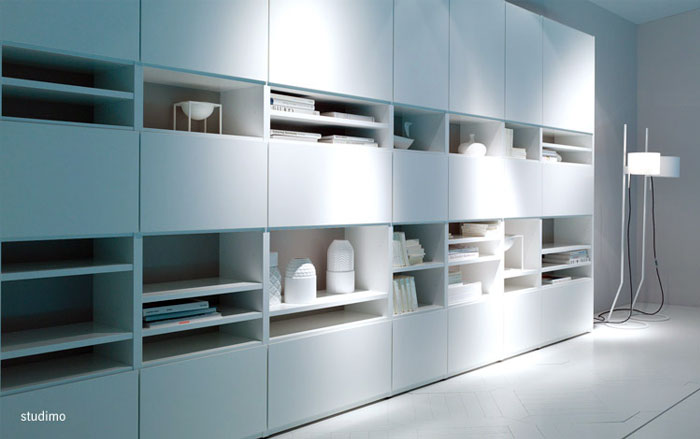 COR and Interlübke in Milan The New 2013 Collections wardrobes panel11