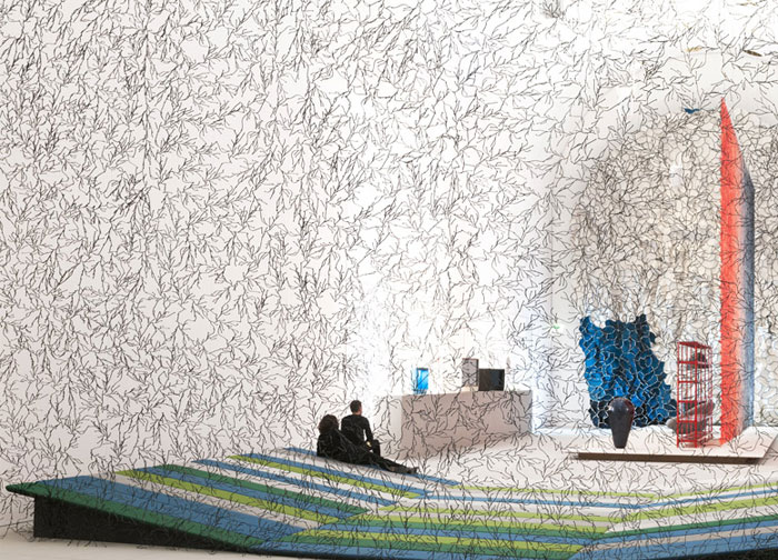 textile-installation-bouroullec1
