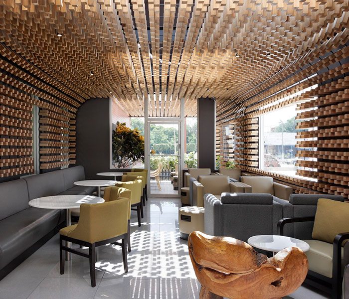 Mccafe Interior Decor By Solis Colomer Arquitectos Interiorzine