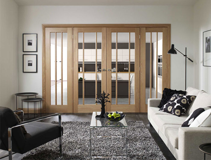 Door Separating Living Room To Bedrooms