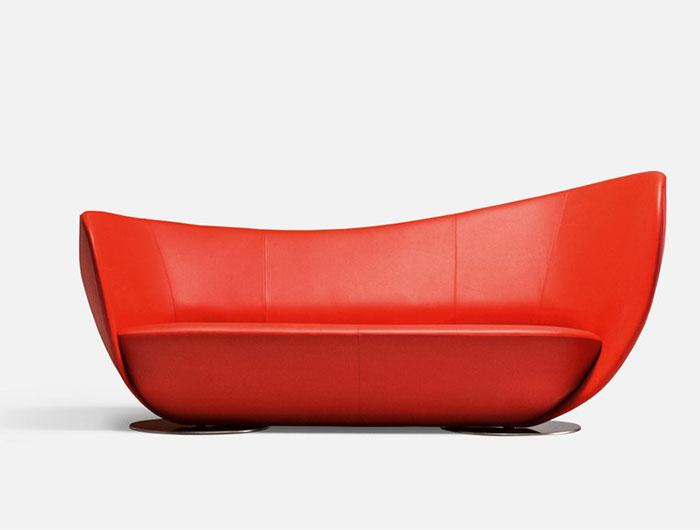 dynamic-shape-red-sofa1