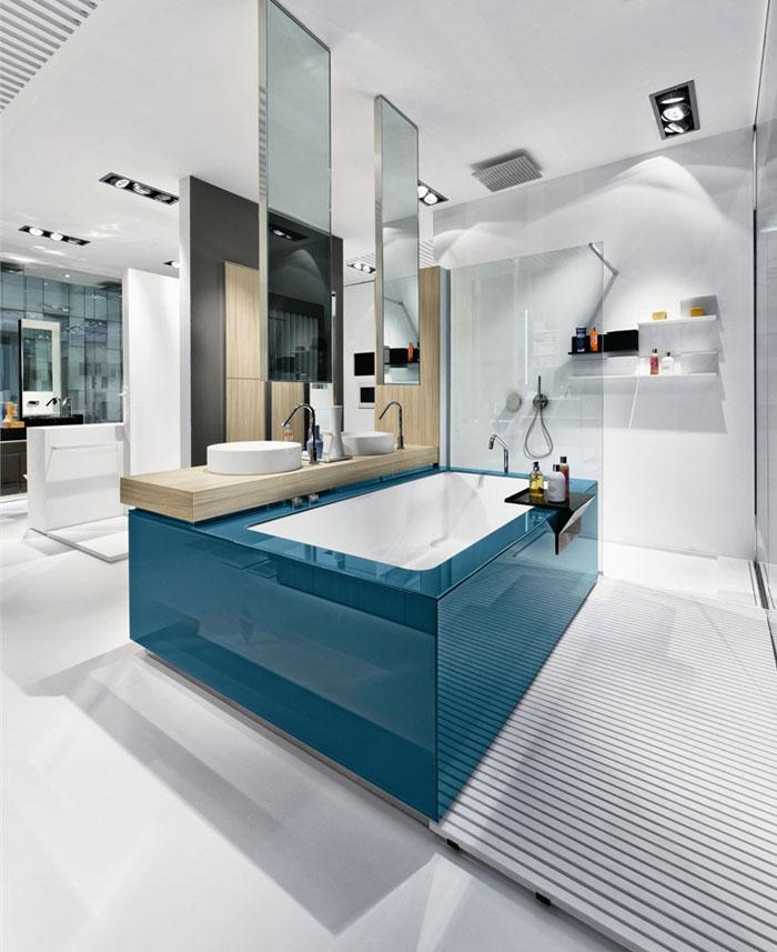 Trendoffice: Unusual bathroom solutions