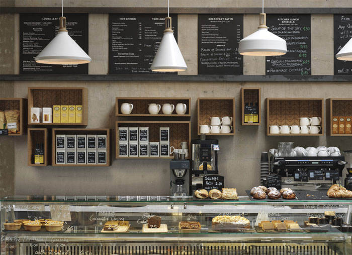 A Contemporary Interpretation Of Traditional Cafe At
