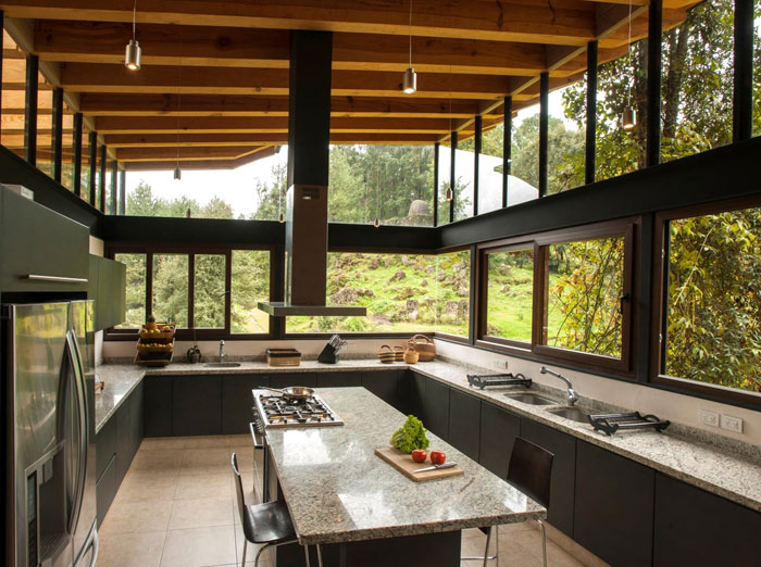 San Sen House Made Of Wood And Glass Interiorzine