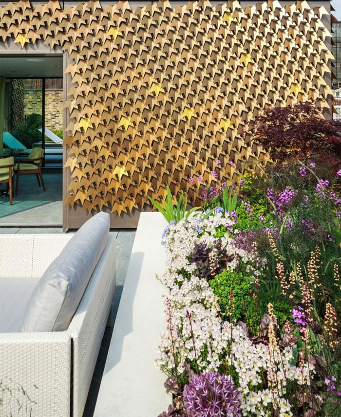 rooftop-pavilion-aluminium-leaves