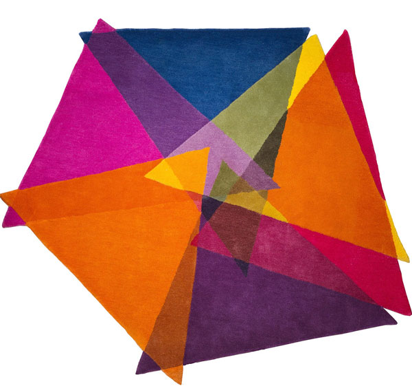 Graphic, Vibrant and Colorful Rugs by Sonya Winner Studio ...