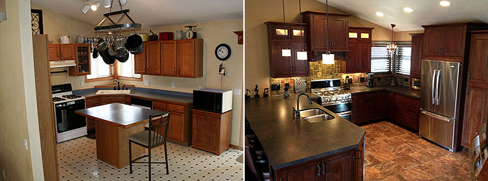 Five Inspirational Kitchen Remodels - InteriorZine