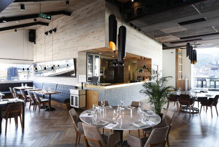 Unique restaurant bar concept interiorzine