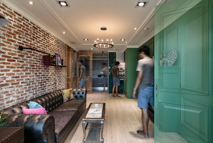 living-room-decorated-green-wall-panels3