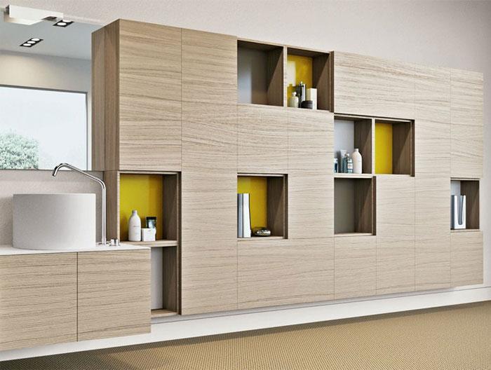 Sophisticated Bathroom Storage Units Interiorzine