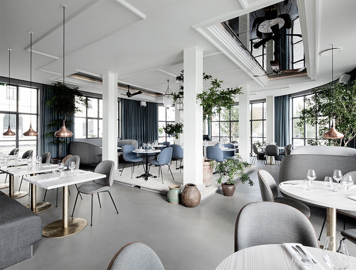 Modern Nordic Restaurant Decor - InteriorZine
