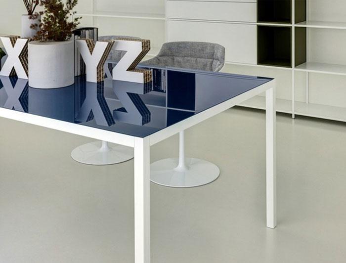 Rectangular Aluminium Table Interiorzine