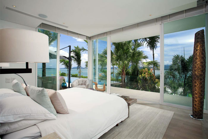 Oceanfront Beach House With Unique Panorama In Phuket