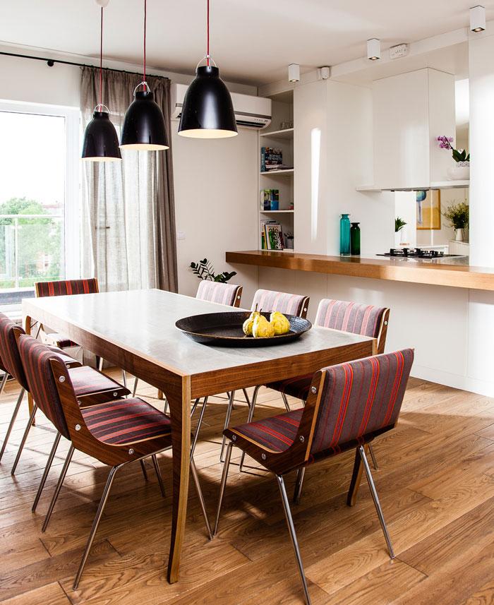 dining area follows eclectic context design