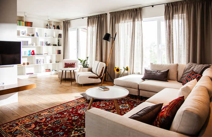 eclectic-contemporary-apartment-living-area