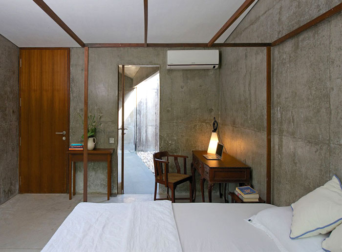 Retreat Made Out Of Wood And Concrete Interiorzine