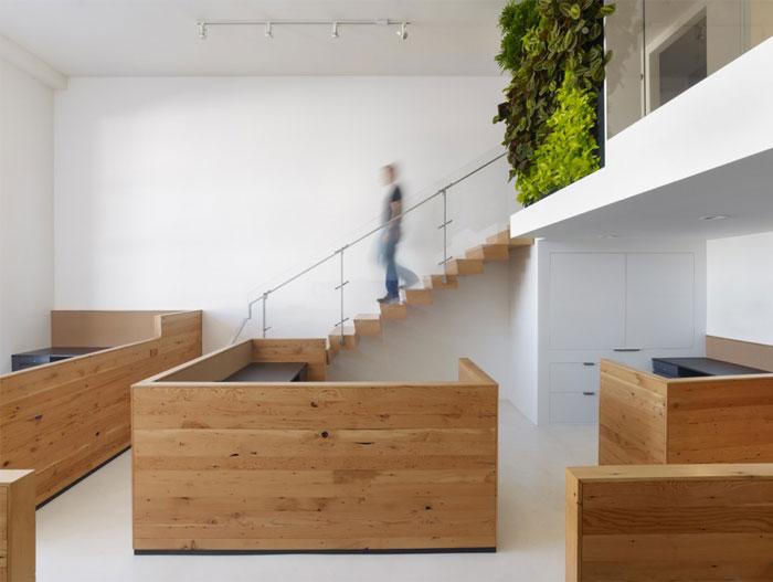 Modern decorating with houseplants interiorzine for Green office interior design